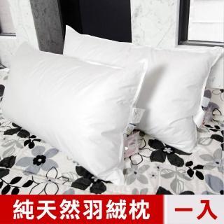 【凱蕾絲帝】台灣製造專櫃級100%純天然超澎柔羽絨枕(一入)
