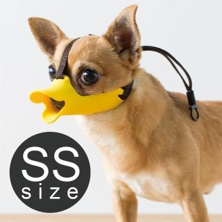 【日本OPPO】呱呱寵物嘴套- 哈囉你好款SS(日本製造 防亂吃 防亂吠 防亂咬)