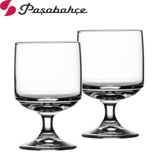 【Pasabahce】強化可疊式高腳杯175cc(2入組)