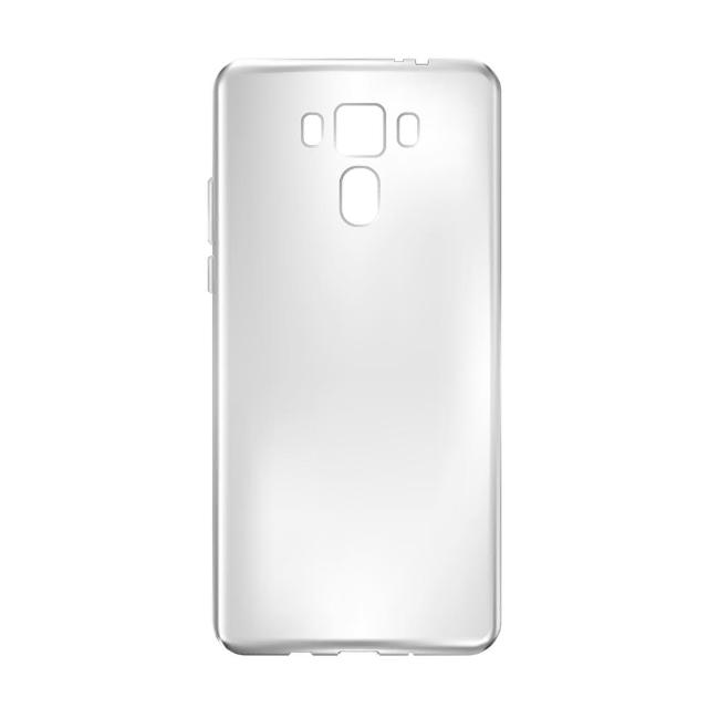 【iDeatry】隱形極致薄 ASUS ZenFone3 ZE552KL 手機殼 華碩ZF3 保護殼 輕透薄 軟殼(手機殼 保護殼 軟殼)