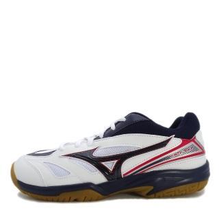 【MIZUNO 美津濃】Mizuno Gate Sky    男鞋 運動 羽球 排球 透氣 耐磨 止滑 舒適 美津濃 白藍(71GA174016)