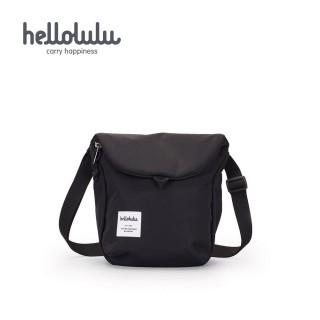 【hellolulu】DESI 休閒側背包-黑(50146-01)