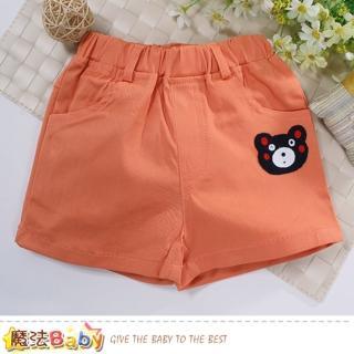 【魔法Baby】女童裝 夏季休閒女童短褲 魔法Baby(k51035)