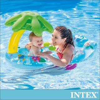 【INTEX】8字型親子游泳圈 適用:1-2歲(56590)