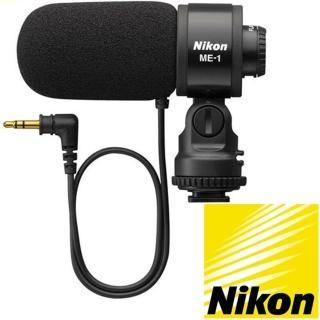 【Nikon 尼康】麥克風降噪單指向電容式麥克風ME-1(單一指向性 立體音)