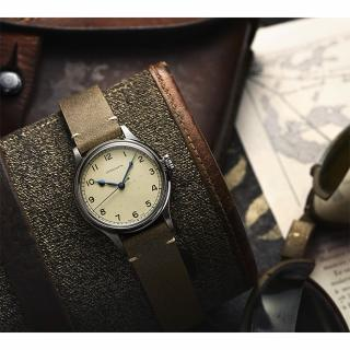 【LONGINES 浪琴】浪琴 HERITARY MILITART 復刻機械錶(L28194932)