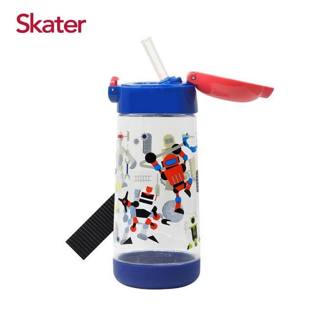 【Skater】PET吸管水壺480ml