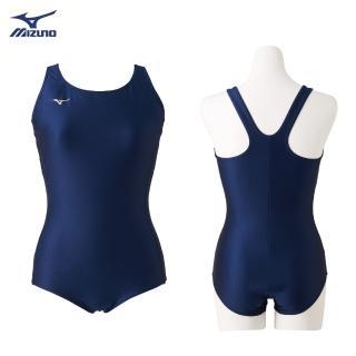 【MIZUNO 美津濃】BASIC女款泳衣 N2MA9C0114(泳衣)
