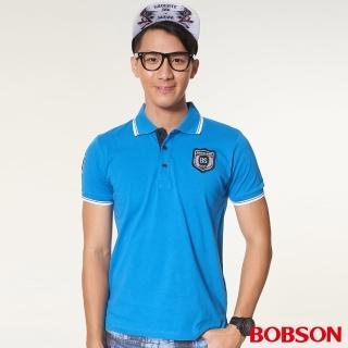 【BOBSON】男款繡標POLO衫(27009-54)