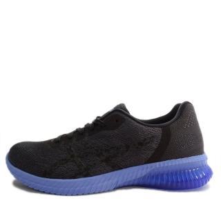 【asics 亞瑟士】Asics GEL-Kenun    女 鞋 運動 慢跑 健走  休閒  黑  藍(T7C9N-9090)