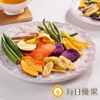 【每日優果】綜合蔬果脆片(160G)