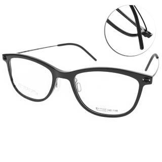 【VYCOZ 光學眼鏡】薄鋼工藝 簡約方框(黑#KEITER BLK)