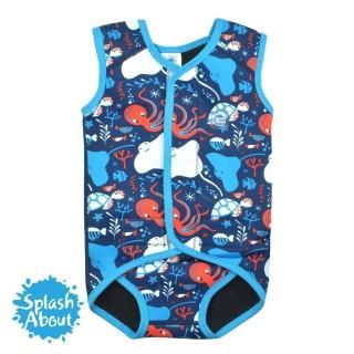 【Splash About 潑寶】包裹式保暖泳衣(海底大冒險)
