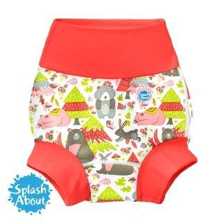 【Splash About 潑寶】3D加強版 游泳尿布褲(森林遊樂園)