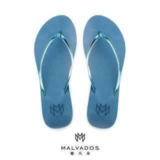 【Malvados 魅凡朵】時尚人字夾腳拖鞋 LUX 萊絲 - Blue Crush 藍色迷戀