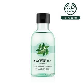 【THE BODY SHOP 美體小舖】富士山綠茶淨化沐浴膠(250ML)