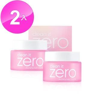 【BANILA CO】ZERO零感肌瞬卸凝霜 經典款100ml 2入組(全台暢銷卸妝霜)