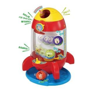 【TAKARA TOMY】Disney 迪士尼 玩具總動員火箭滾滾球遊戲組(幼兒)