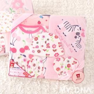 【MY+DNA熊本部】彌月禮盒系列-七件組包巾禮盒 ♀長袖女款(B0021-02-01)