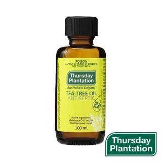 【ThursdayPlantation 星期四農莊】茶樹精油100ml(100% 澳洲產精油)
