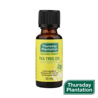【ThursdayPlantation 星期四農莊】茶樹精油25ml(100% 澳洲產精油)