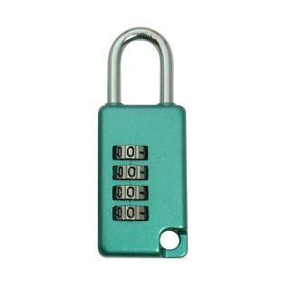 【金便利Variable】四環數字彩色密碼鎖 附鎖孔32mm 1入 台灣製造(變號鎖 彩色變號鎖 數字鎖 行李箱鎖)