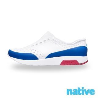 【native】LENNOX BLOCK 男/女鞋(白x藍x紅)