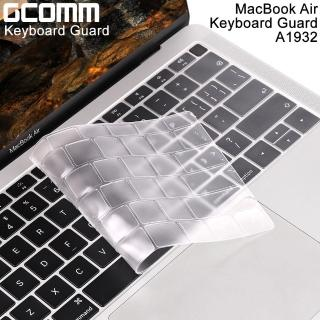 【GCOMM】Apple MacBook Air 13吋 A1932 鍵盤保護膜 透明(內附GCOMM ScreenCleanPRO抗靜電清潔布)