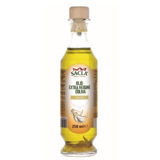 【Sacla】義大利初榨橄欖油/蒜香風味(250ml)