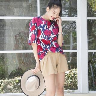 Yumie100%天然全植棉絹染上衣組