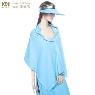 【HOII后益】HOII后益 披肩 ★藍光(UPF50+抗UV防曬涼感先進光學機能布)