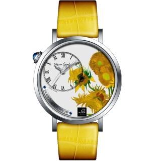 【Van Gogh 梵谷】梵谷演繹名畫女錶(S-SLS-01 向日葵)