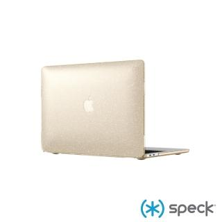 【Speck】Macbook Pro 13吋 2016/2018 SmartShell Glitter 霧透金色奈米玻璃水晶保護殼(保護殼)