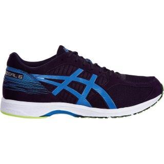 【asics 亞瑟士】ASICS TARTHERZEAL 6     男鞋 運動 慢跑 紅 深藍 虎走 亞瑟士(T820N-500)