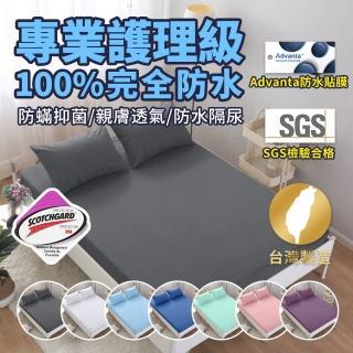 【藍貓BlueCat】護理級100%完全防水保潔墊(台灣製造 採用3M吸濕排汗技術處理)