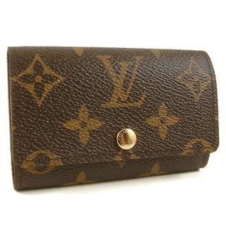 【Louis Vuitton 路易威登】Monogram經典字紋六孔鑰匙包