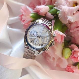 【VOGUE】STUDIO 晶彩璀璨系列計時女錶-36mm(5V1905-121S-WM)