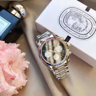 【VOGUE】STUDIO 晶彩璀璨系列計時女錶-36mm(5V1905-121S-DWM)