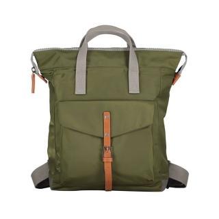 【ROKA】『出外走走』學院風兩用後背包-中(軍綠)