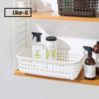 【日本like-it】可堆疊加高洗衣隙縫籃-S-1入