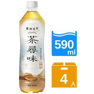 【黑松】黑松茶尋味台灣青茶(590mlx4入)