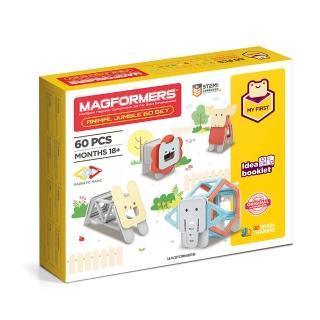 【Magformers】磁性建構片-可愛動物組(2019新品上市)
