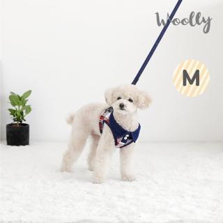 【WOOLLY】杰科狗狗胸背帶-送牽繩 M(胸背帶/牽繩)