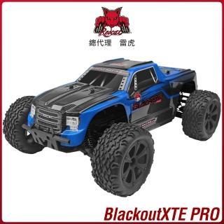 【Redcat Racing】BLACKOUT XTE PRO 1/10無刷四驅大腳車 藍6050RT-07013(越野車)