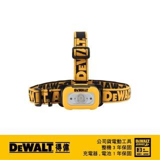 【DEWALT 得偉】美國 得偉 DEWALT 200流明LED頭燈 DWHT81424(DWHT81424)