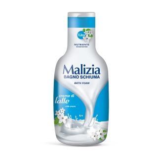 【Malizia 瑪莉吉亞】香氛沐浴乳 滋養-牛奶拿鐵 1000ml(香氛沐浴)