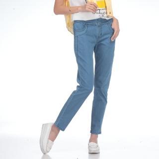 YAKPAK-MIT新酷萊卡柔棉激瘦牛仔褲1+1