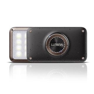 【N9】N9-LUMENA2 行動電源照明LED燈-摩卡棕 送S型雙面扣環(LUMENA2-Brown)