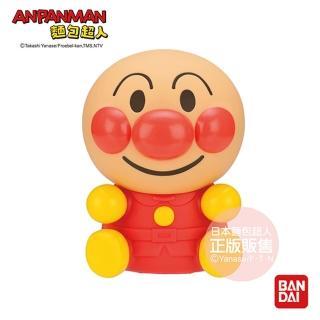 【ANPANMAN 麵包超人】軟軟哨音麵包超人玩偶(8個月-)