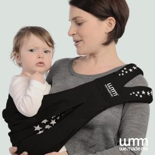 【WMM】Smile 舒服 5 式親密揹巾 - 巨星典藏款(黑)